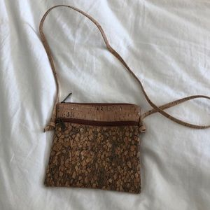 Cork crossbody bag from Portugal